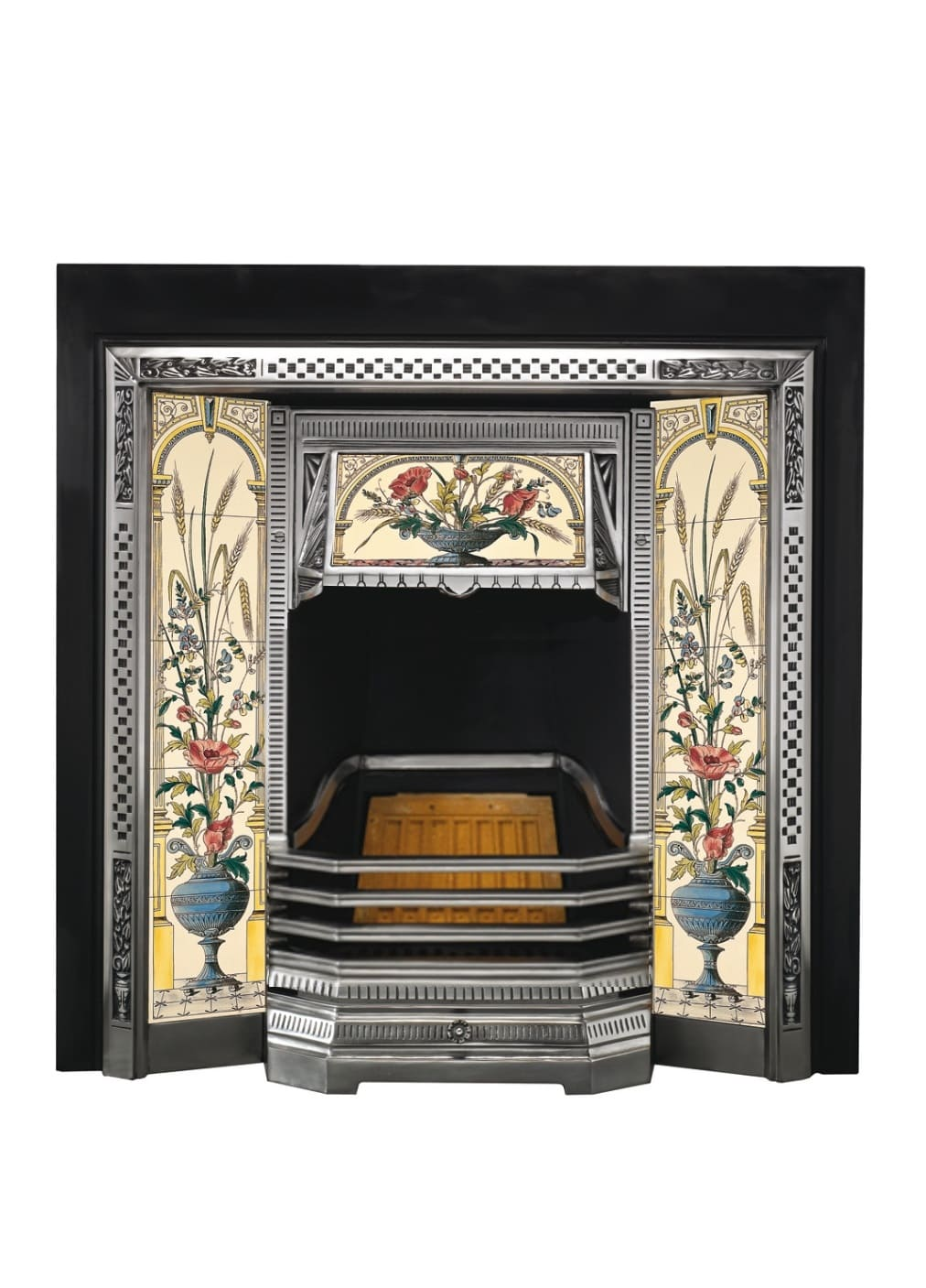 Топка Victorian - частичная полировка с козырьком под плитку