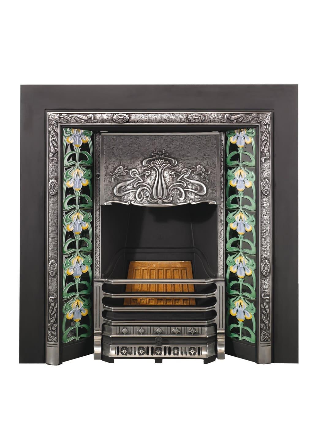 Топка Art Nouveau - частичная полировка